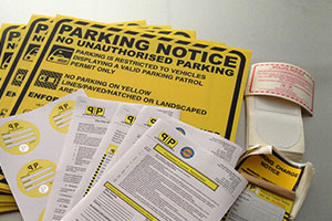 parking enforcement Cheshire