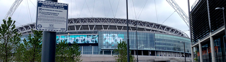 ANPR Parking Systems At Wembley Park
